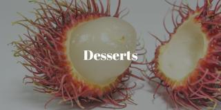 Desserts asiatiques